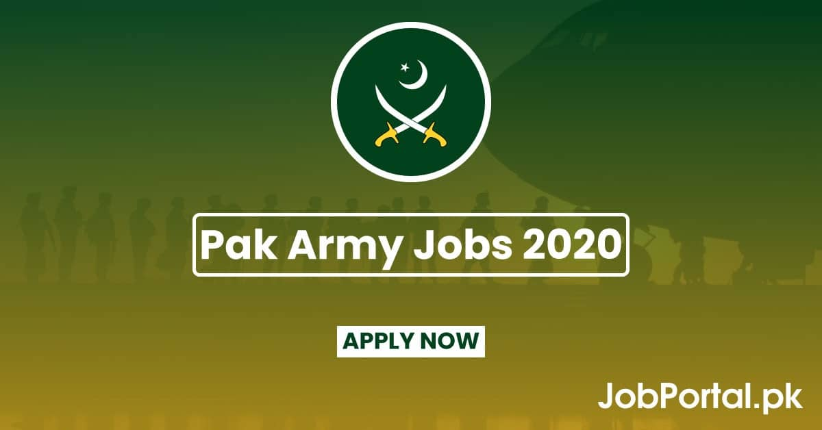 pakistan army jobs 2020 jobportal.pk