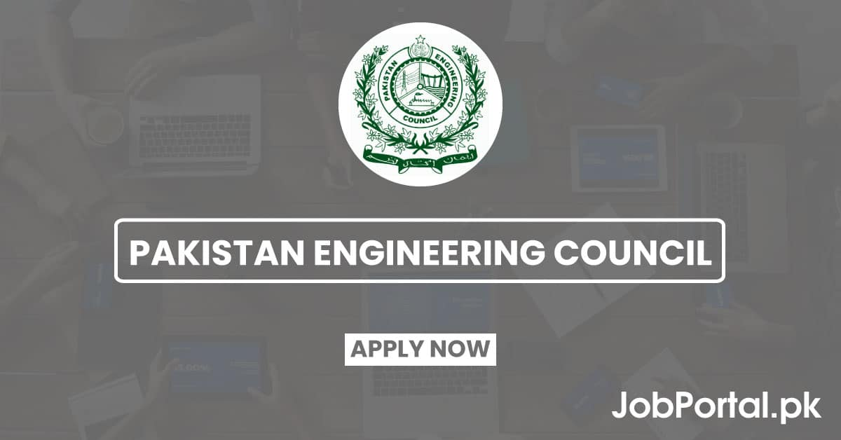 Pakistan engineering council jobs 2020